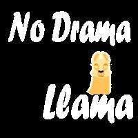 No Drama Llama Liebe Love Tiere Geschenk