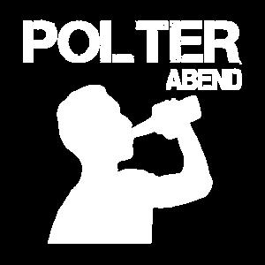JGA Bräutigam Junggesellenabschied Polteraben Bier