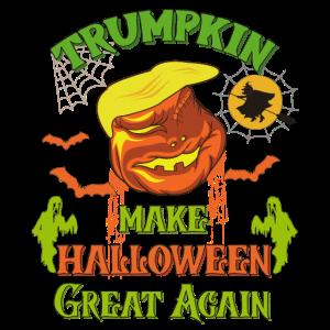 Trumpkin machen Halloween groß wieder unheimlich lustig