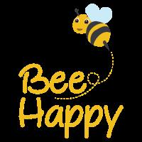 Biene glücklich, Hummel, Biene-Liebhaber, Hummel-Geschenk