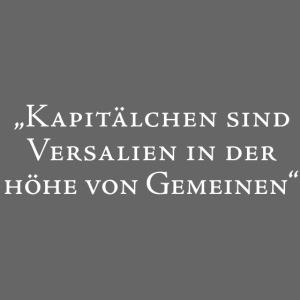 Kapitaelchen/ white