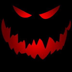 Halloween Horror Fratze