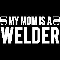 Meine Mutter ist ein Welder Welding Kid T-Shirt