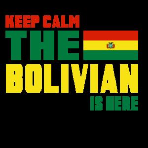 Keep calm Bolivien Geschenk Lateinamerika La Paz