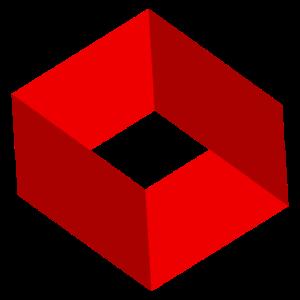 Unmögliche Figur - Unmögliches Quadrat