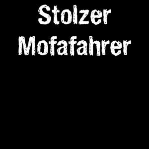 Stolzer Mofafahrer
