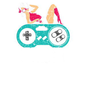 Sexy Gamer Girl Videospieler Geschenk Kontroller
