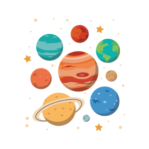 Planeten Weltall Sterne