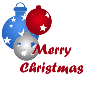 Merry Christmas Weihnachtskugeln
