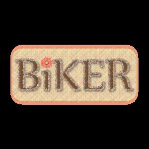 Brown-Radfahrer-Text