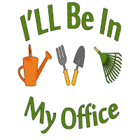 Krank sein in meinem Bürogarten