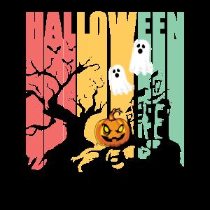 Vintage Style Retro Halloween Kostüm Geschenk