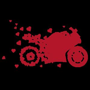 Motorrad-T-Shirt-Geschenk-Radfahrer-T-Shirt männliche Frau