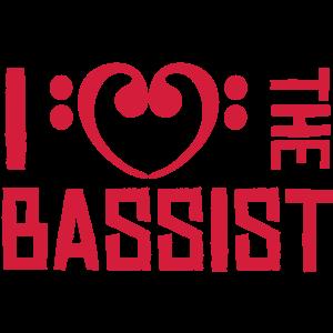 I love the Bassist