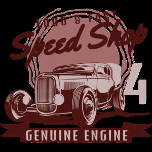 Laut und Schnell Original-Motor