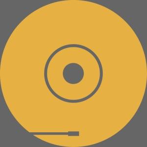 disco PF 1colore giallo