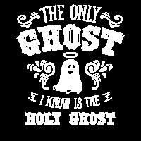 Holy Ghost Anti Halloween Geist Religion Geschenk