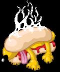 Motif Hot Dog