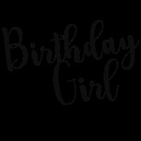 Birthday Girl Geschenk Geburtstag Geschenkidee