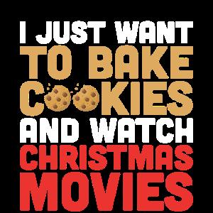 Plätzchen Backen Und Weihnachtsfilme Anschauen