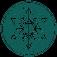 Metatrons Cube Würfel, Heilige Geometrie, Farbwahl