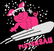 ApresSki-Shirt: Pistensau - Ski - Snowboard - Wintersport 2C