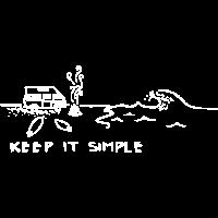 """keep It Simple"" Meer Geschenk Idee"