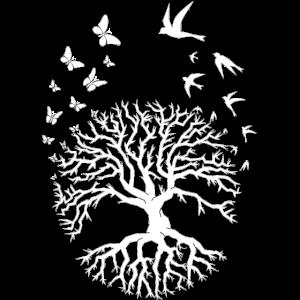 Baum des Lebenbaums des Lebenzens-Entspannungweißes