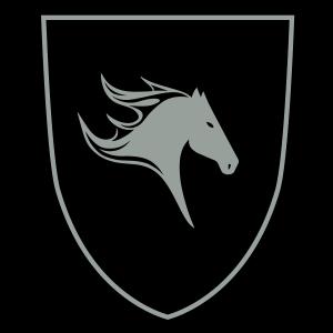Abzeichen mit Pferdekopf 2c, Pferd, Reiten, Ride