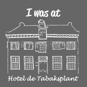 I was at Hotel de Tabaksplant WHITE