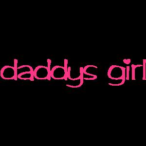 Daddys girl | Sprüche T-Shirts bedrucken
