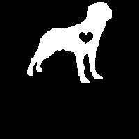 Rottweiler Hund Geschenk Hunde Frauchen