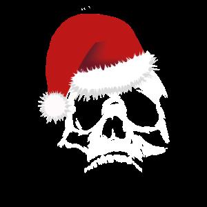Weihnachten Totenkopf Skull