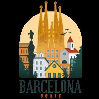 Barcelona Spanien Souvenir