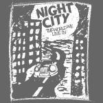 Stad van de nacht (1c wit)