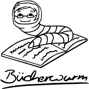 Bücherwurm 1