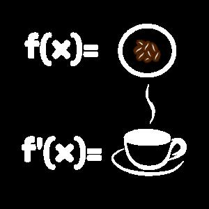 Kaffee Mathematik Mathe Informatik Nerd Geek