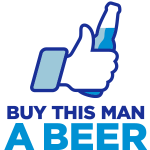 Gebt diesem Mann Bier. Morgen ist seine Hochzeit.