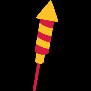 Rakete Feuerwerk