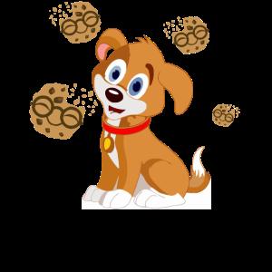 Kinder suesser Hund Kekse