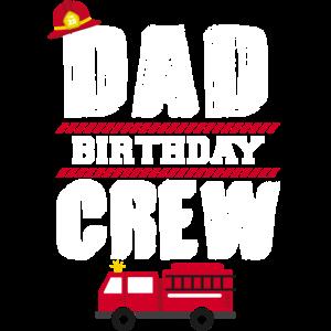 Dad Geburtstag Truppe Geschenk Feuerwehr Kinder
