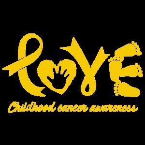 Liebes-Kindheits-Krebs-Bewusstseins-Hemd
