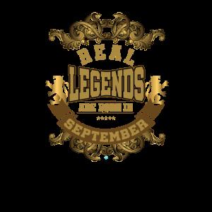 Die wahren Legenden werden im September geboren.