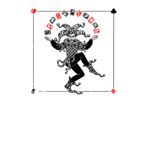 Joker Jonglierkarten - Distressed