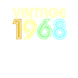 Jahrgang 1968 60iger Retro 50. Geburtstag
