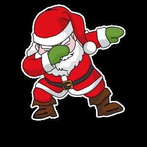 Dab, Dabbing, Weihnachtsmann, Geschenk, Nikolaus