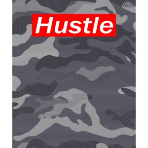Hustle Carmouflage Design Erfolgshirts