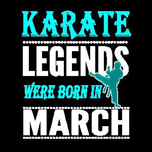 Karate Legends werden im März geboren