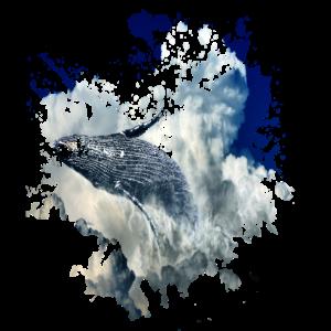 Ozean Buckelwal springt aus dem Meer Geschenk