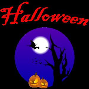 Halloween Clip Art blut